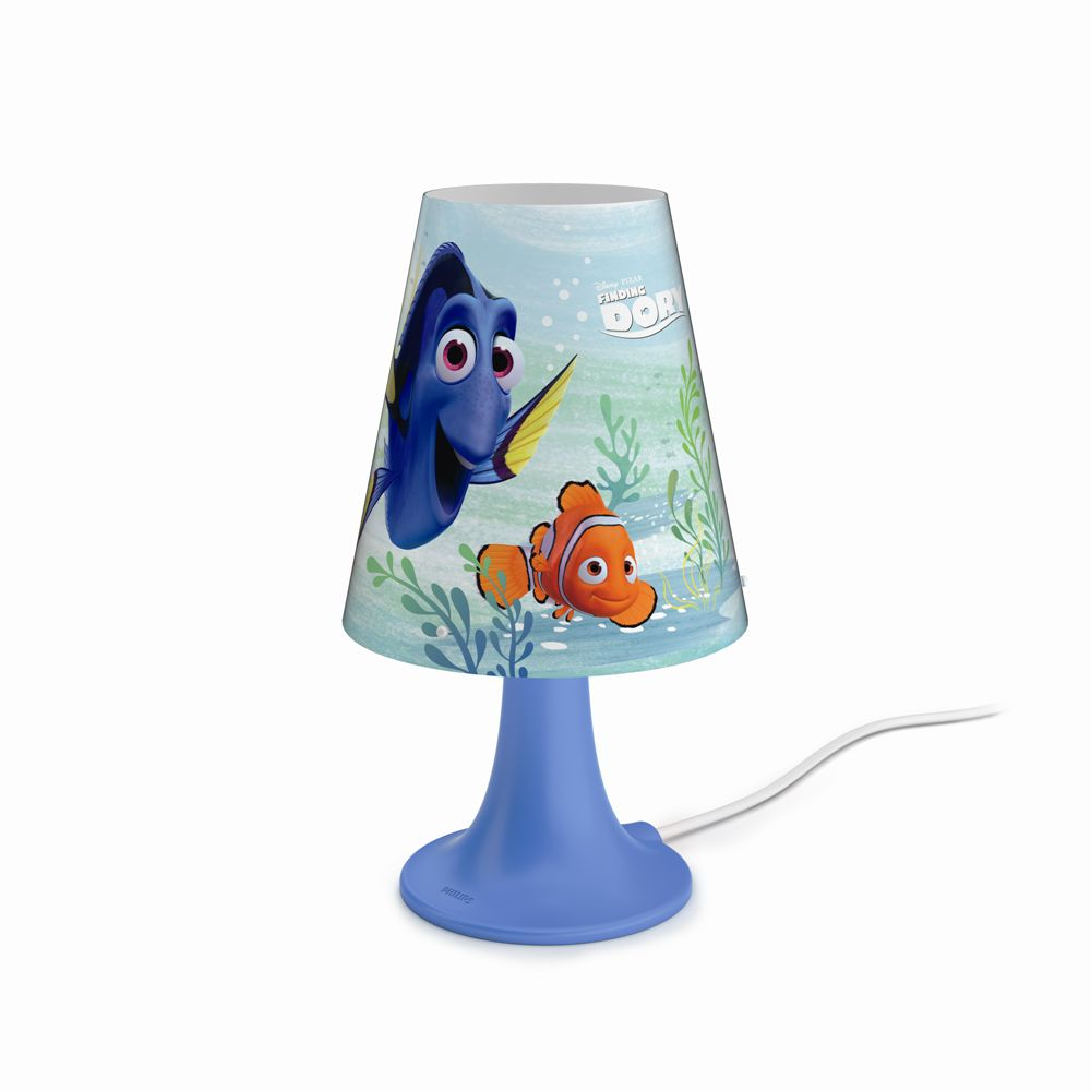 Philips Disney Finding Dory LAMPA STOLNÍ LED 2,3W 220lm 2700K 71795/90/16